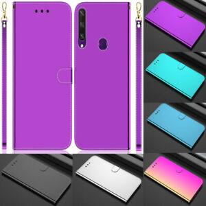 Mirror Leather Wallet Flip Case Cover For LG/NOKIA/SONY/MOTOROLA Phone model
