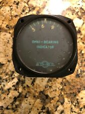 Collins Celling Omni-Bearing Aviation Indicator Instrument 337A-2 OBI