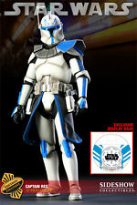 "Star Wars Captain Rex Militaries 12"" Figure Exclusive Sideshow Used"