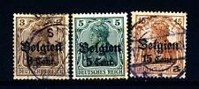 GERMAN OCCUPATION-BELGIUM - BELGIO - 1916-1918 - Francobolli della Germania del