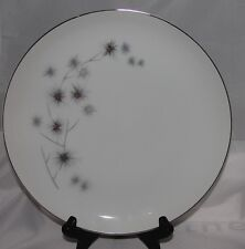 4 Creative Fine China Japan LUNCHEON PLATES   STAR BURST starburst 1014   9""