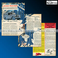 Article Presse 4X4 LAND ROVER 88 CHASSIS LONG 1963 #42