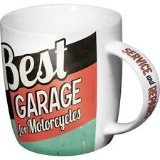Tazza Best Garage, Pin Up, Vintage, Motorcycles