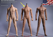 1/6 Super Flexible Seamless Male Muscular Body SUNTAN Steel Joint JIAOUDOL ❶USA❶
