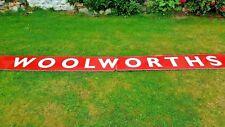 More details for 4m original woolworths plastic shop sign