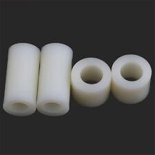 ABS Plastic Round Non-Thread Column Standoff Spacer Pillar Washer M5*3mm-25mm