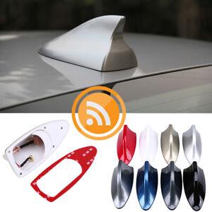 Universal Antenna Aerial Shark Fin FM AM Radio Signal Car Auto SUV For BMW Ford