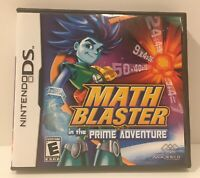 Math Blaster, Adventure Nintendo DS,Complete,Game+Manual+Case,DS-DSi-Lite-XL-3DS