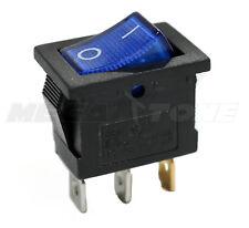 SPST KCD1 Mini Rocker Switch w// Illuminated Red Lamp On-Off 6A//250VAC USA SELLER