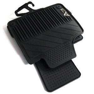 ORIGINAL Audi Fussmatten Matten Gummi schwarz 4teilig A3 8P1061225 041