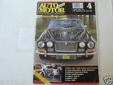 AMK 1999-04 HONDA CB450 WHITE BOMBER,PUCH SGS,SIMCA 1501,FIAT 1500,JAGUAR XJ6 S1