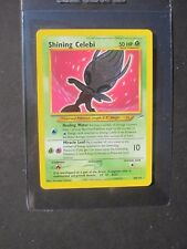 Pokemon SHINING CELEBI 106/105 - NEO DESTINY SET HOLO - (EX)