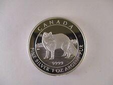 2014 'Arctic Fox' Proof $5 Silver Coin 1oz .9999 Fine