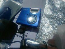Sony MZ-NF610 MiniDisc Walkman Recorder High Speed Net - Blue Version
