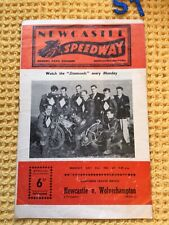 More details for rare newcastle  1961 speedway programme