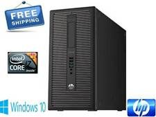 HP ProDesk 600 G1 T Intel Core i7 4790 3.60 to 4.00 16GB RAM 500GB HD Win10 Pro