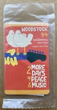 Woodstock 1994 Phone Card (Saugerties NY) 2 More Days of Peace & Music RARE MINT