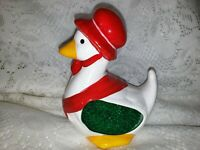 Vintage Goose Kitchen Sponge Scrubby Holder Ceramic