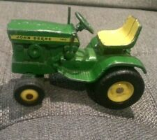 Vintage 1960's Ertl John Deere 140 1:16 Scale Green Riding Lawn Mower Tractor