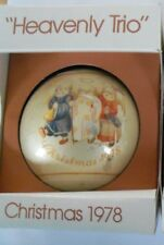 Christmas ornament (Schmid) 1978 Heavenly Trio 5th Limited Edition Sister Berta