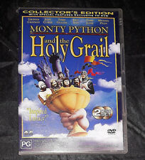 Monty Python and the Holy Grail - DVD - John Cleese - Region 4 - 2 Discs