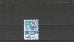 Bermuda 1964 Olympic Games Tokyo Single  Values  MNH scan 1092