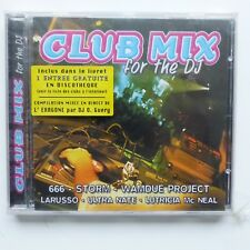CLUB MIX FOR THE DJ 666 STORM  WAMDUE PROJECT LARUSSO ULTRA NATE 910522 CD ALBUM