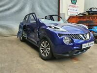 NISSAN JUKE PETROL 2019 BREAKING SPARE PARTS ONLY REF 147