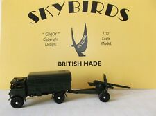 "Skybirds Models  Medium Artillery Tractor & 5.5"" Infantry Howitzer"