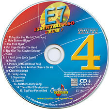 Karaoke CD+G Essential-7 disc vol-4 Collector's Edition, New in sleeve