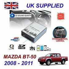 For MAZDA BT50 08-11 MP3 SD USB CD AUX Input Audio Digital CD Changer Module