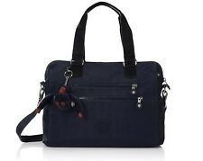 New - Kipling Bevine Convertible Satchel Handbag - True Blue