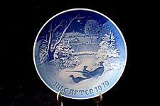 B & G Bing & Grondahl Denmark Copenhagen Pheasants In The Snow Plate 1970