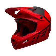 Bell Transfer MTB Bike Full Face Helmet Slice Matt Red / Black
