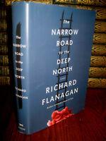 Narrow Road To Deep North Richard Flanagan 1st Edition Booker Prize Fiction