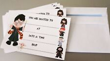 Harry Potter Party Invitations Invites with Envelopes - Pack of 8