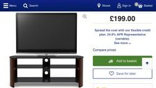 Sandstrom S1250CW15 Tv Stand Wood / Glass