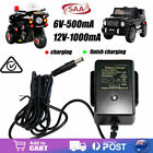 12V 1000mA Battery Charger AC Adaptor For Kids Electric Ride On Car Bike Scooter
