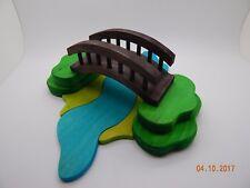 Wooden Dolls House Bridge & River Puzzle Set Enchantmints Fairy Forest Lodge