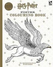 Harry Potter Poster Colouring Book, Warner Brothers, Very Good Book