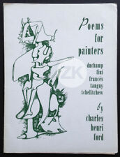 POEMS FOR PAINTERS Leonor Fini DUCHAMP Francés TANGUY Tchelitchew FORD 1945