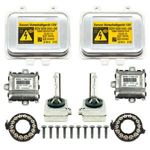2x New BMW E60 E65 Xenon Ballast HID Bulb Adaptive Drive Control Unit Module Kit