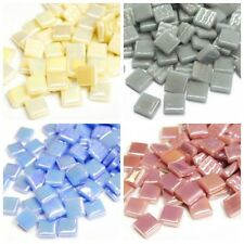 12mm Square Mosaic Tiles - Choice of Colours - 50g