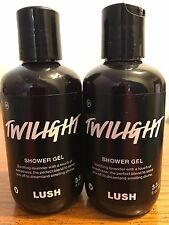 LUSH Handmade Cosmetics TWILIGHT Shower Gel Lot Two 3.3 oz NEW