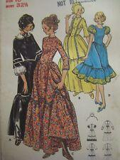Vtg Butterick 5939 CENTENNIAL COLONIAL DRESS COSTUME Sewing Pattern UNCUT Women