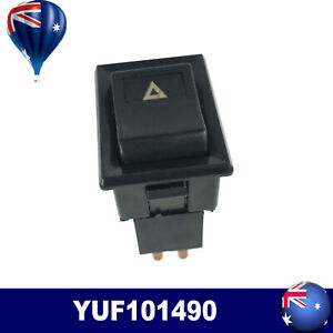 FOR LAND ROVER DEFENDER 90 110 130 HAZARD WARNING LIGHT LAMP SWITCH YUF101490