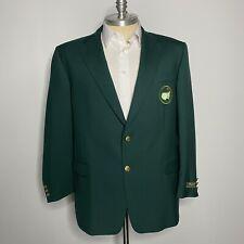 NWT Bobby Jones Green Blazer 48R Masters Golf Jacket Augusta Replica 100% Wool