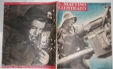 1942 Sommergibili nel Mediterraneo Pescatrici di perle Giornale Radio Petrolio