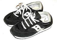 Saucony Originals Jazz Original Classic Retro Shoes Girl Black Silver Kid Size 3