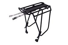 "OXC Oxford Pannier Luggage Bike Rack Disc Compatible Alloy Black 26-28"" Wheel"